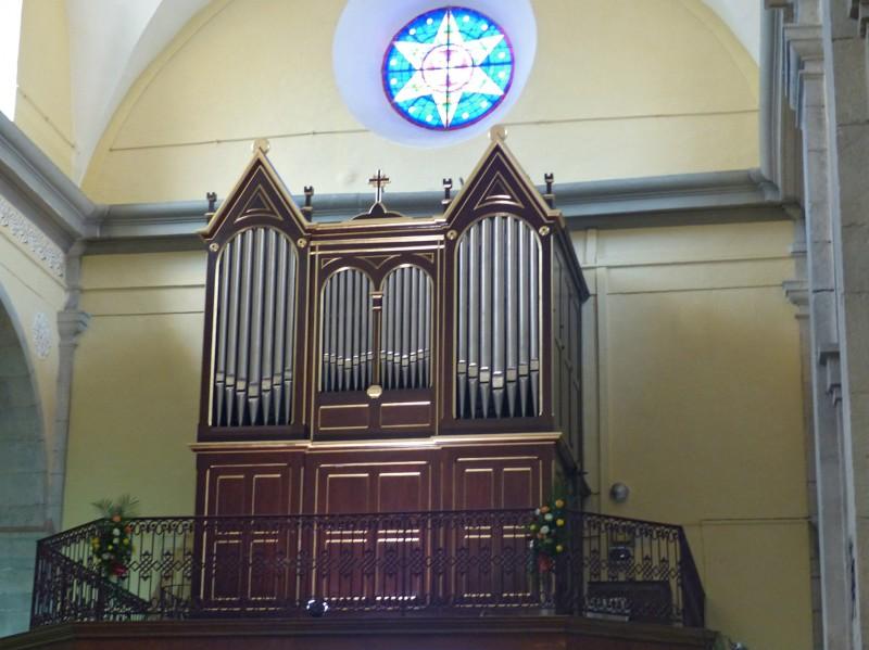 ORGUE de l'Église de la Nativité de La Garde