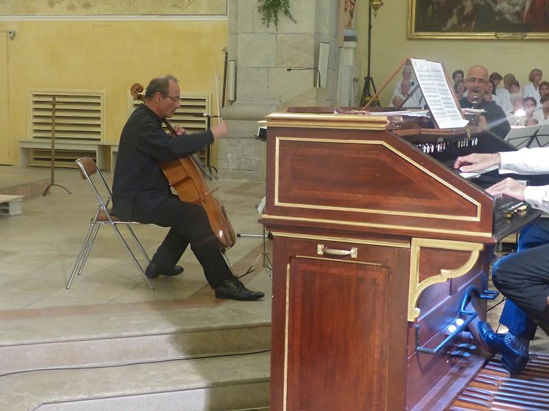 Orgue ,Violoncelle et Clarinette