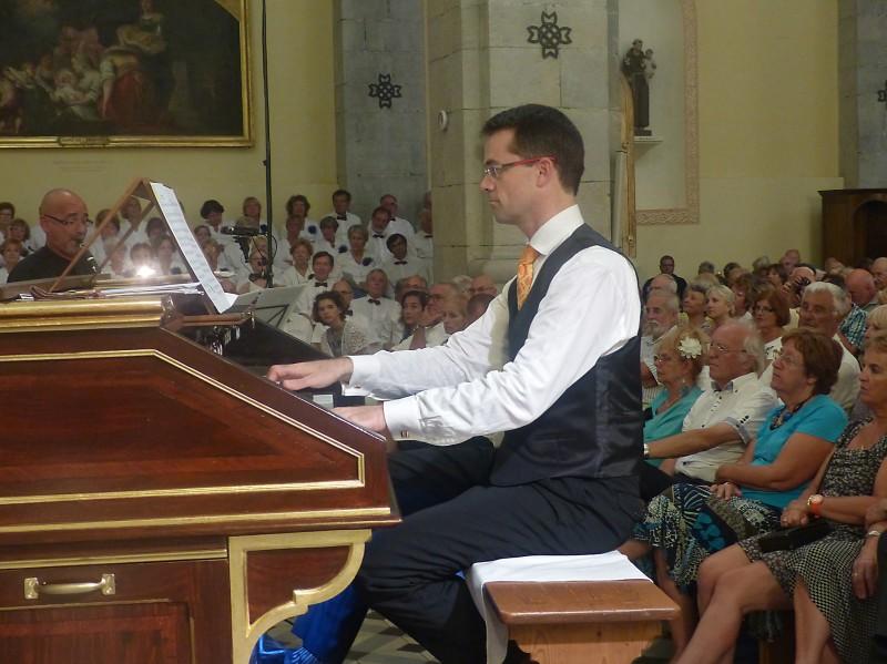 L'organiste Pascal MARSAULT