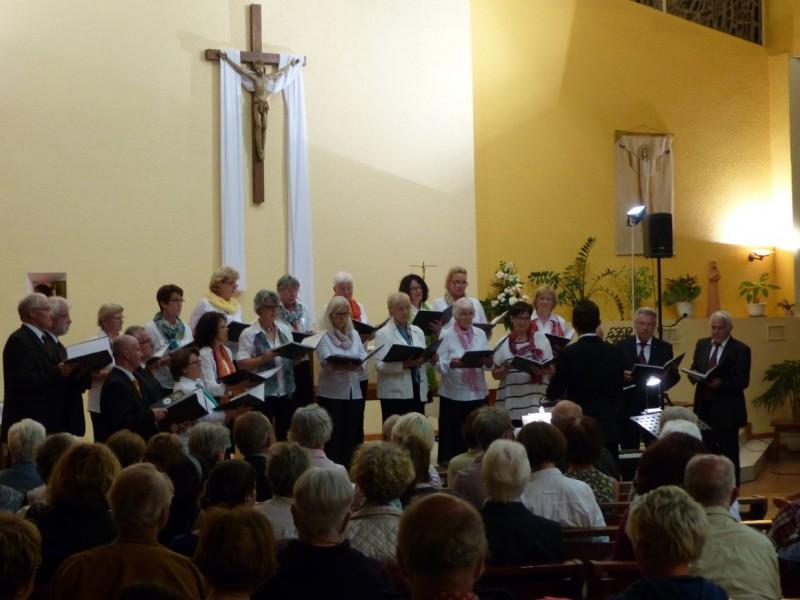 Reception Chorale CHORGEMEINSCHAFT - Concert