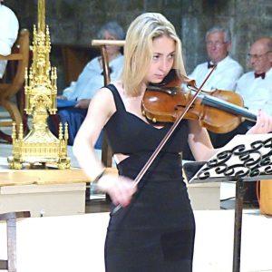 Concert 19 Juin 2015 - Lucille SOUBRÉ-LANABÈRE au violon