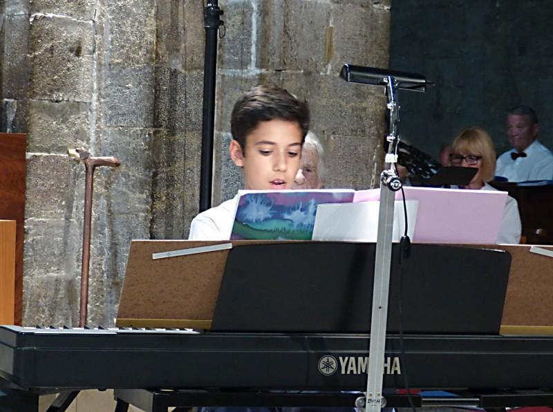 Concert 19 Juin 2015 - Tom DESJARDINS au piano