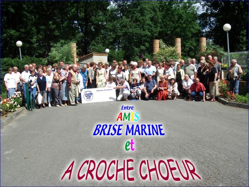 BRISE MARINE et A CROCHE CHŒUR à Gratentour (2008)