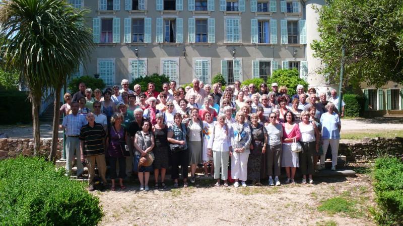 Réception du Chœur VILLANELLE en 2010