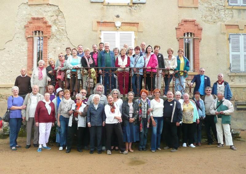 Rencontre avec la Chorale CANTAZERGUES - Mai 2012